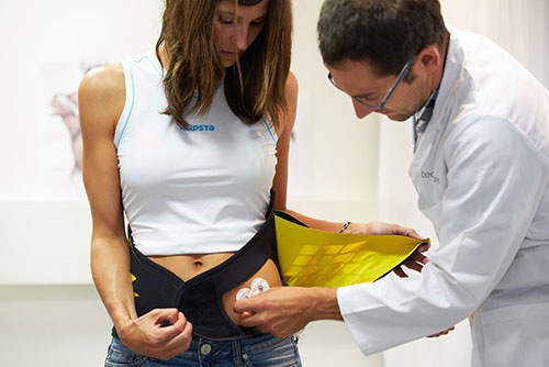 LUMBIA, technology for lower back problems