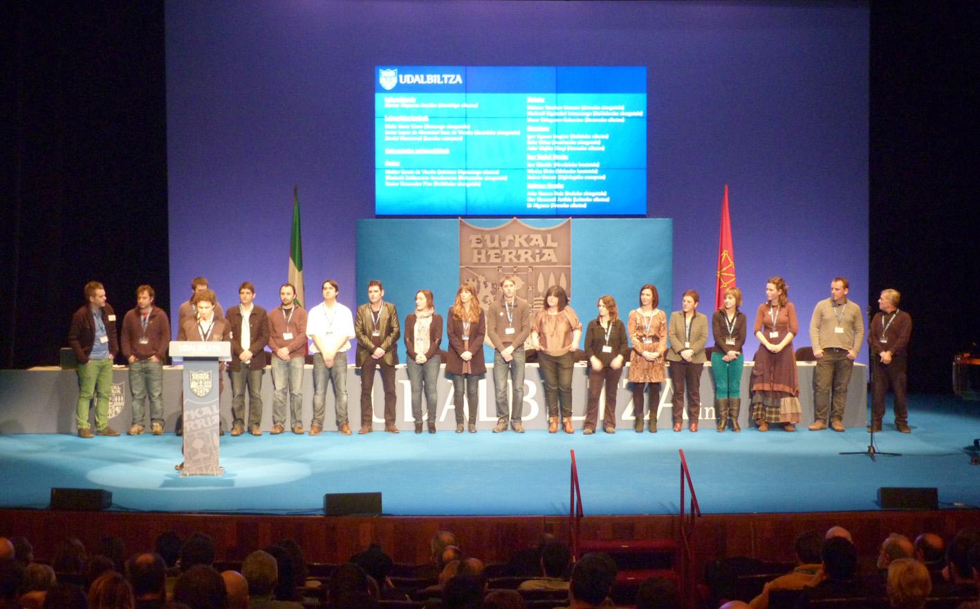 Udalbiltza Meeting in 2013